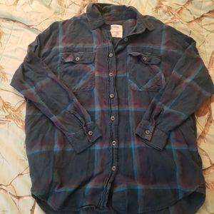 Mossimo oversized flannel medium